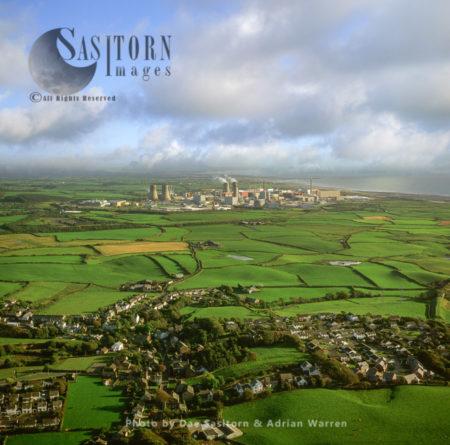 Sellafield , Cumbria: Originally An Ordnance Factory, Now A Nuclear Power Station