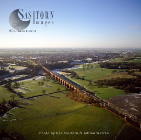 Twemlow Railway Viaduct, Near Holmes Chapel, Cheshire
