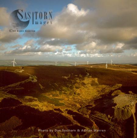 Wind Farm At Kirkby Moor, Cumbria, England
