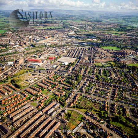 Carlisle Town Centre, Cumbria