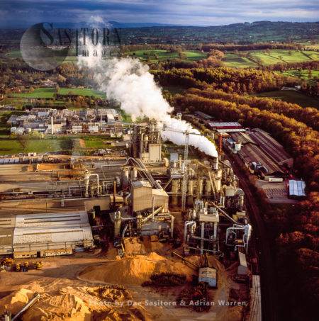 Wood-chip Factory, Chirk, Wales