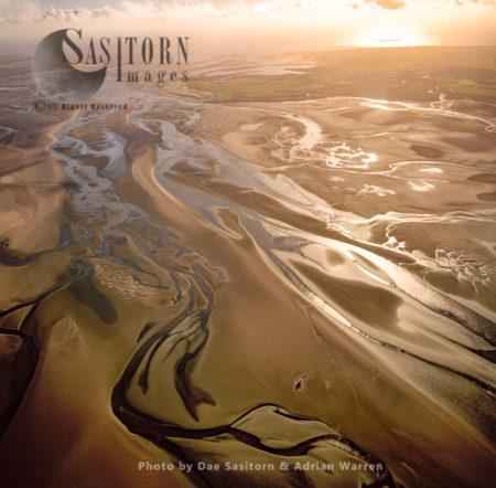 Mudflats At Duddon Estuary, Cumbria
