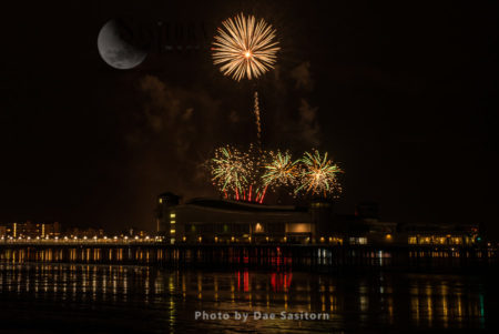 Fireworks Display, Weston-super-Mare Pier, Somerset
