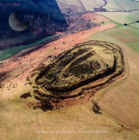 Caer Caradoc Hillfort, An Iron Age Hill Fort And Scheduled Monument, Chapel Lawn, Shropshire