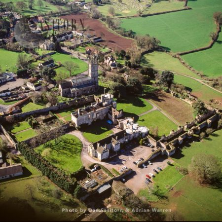 Thornbury Castle Hotel And Restaurant, And St Mary Church,  Thornbury, Near Bristol, Somerset