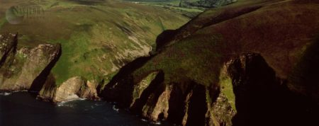 Great Hangman Cliffs, Near Combe Martin, North Devon, England