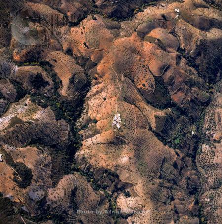 Landscaple South Of Cadiar, Sierra Nevada National Park, Granada, Andalusia In Spain
