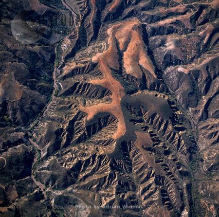 Landscaple Near Cadiar, Sierra Nevada National Park, Granada, Andalusia In Spain