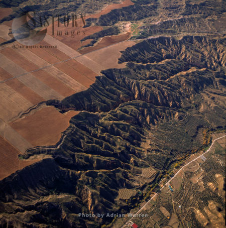 Landscape South West Of Olivar And Bacor, Sierra Nevada National Park, Granada, Andalusia, Spain