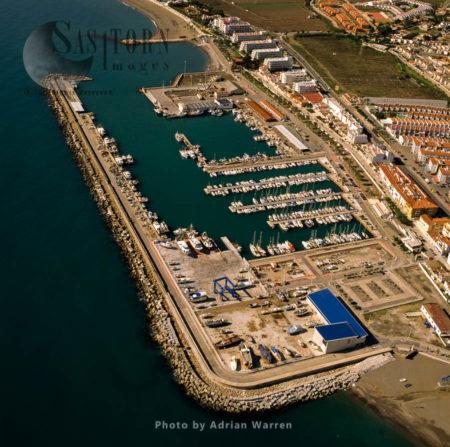Port Of La Caleta, Caleta De Velez, Malaga, Southern Spain