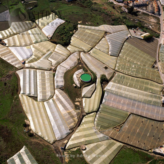 Greenhouses South Of Maro, Southern Spain