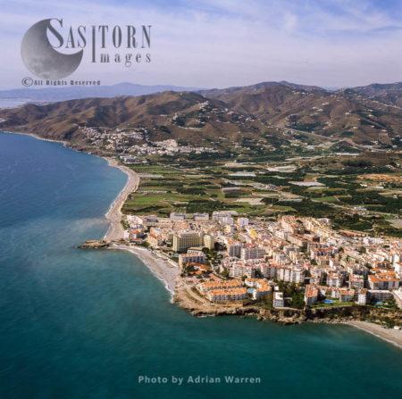 Aerial Image Of Spain: Nerja, Southern Spain