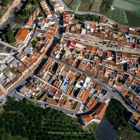 Aerial Image Of Spain: Maro, Axarquia, Costa Del Sol, Andalucia, Spain