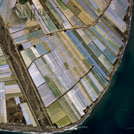 Greenhouses At El Pozuelo, Southern Spain