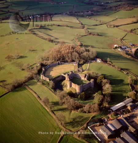 White Castle, A Ruined Norman Castle, Grosmont, Monmouthshire, Wales