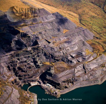 Dinorwic Slate Quarry, Llanberis, Gwynedd, North Wales