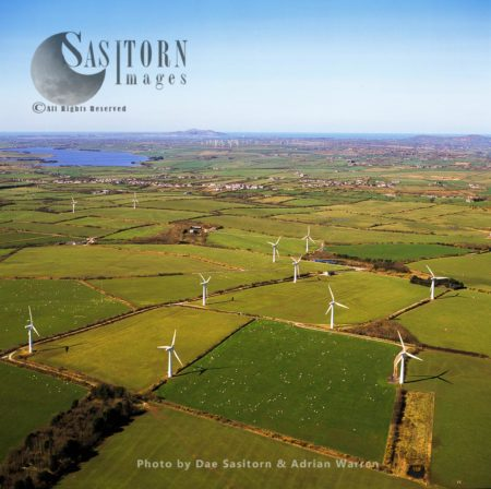 Wind Farm, On The Isle Of Anglesey, North Wales