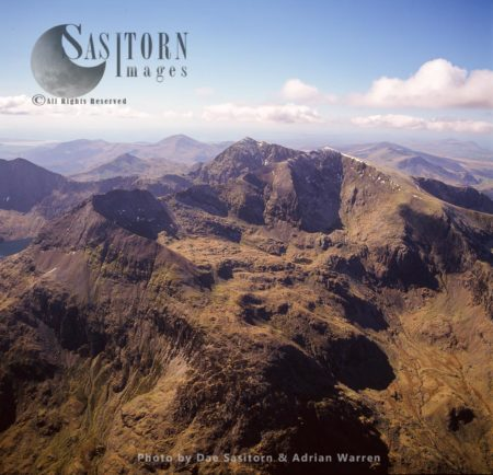 Snowdon And Crib Goch, Snowdonia National Park, Wales