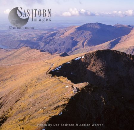 Snowdon And Crib Y Ddysgl, Snowdonia National Park, Wales