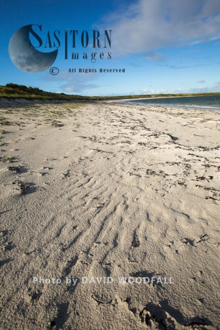 Balranald Beach, Ideal Feeding Conditions For Little Terns To Feed With Its Clear Shallow Water, Balranald RSPB Reserve, Island Of Berneray, North Uist, Outer Hebrides