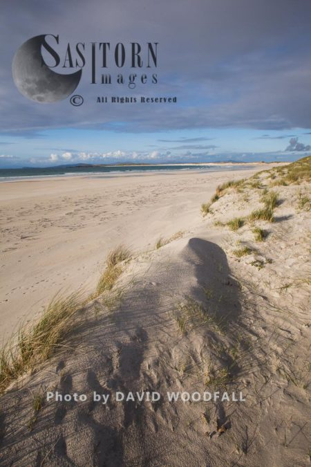 Solas Dunes And Beach, Beautiful Bay In Berneray, North Uist, Outer Hebrides, Scotland