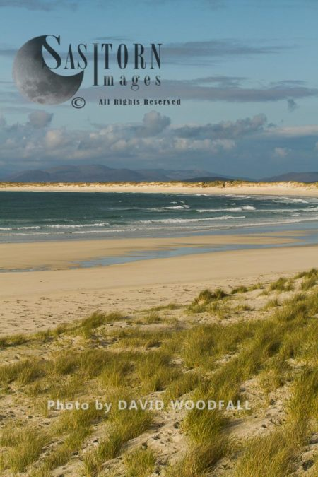 Sand Dunes, Machair And Beach With Clear Shallow Water, Ideal Feeding And Breeding Ground For Little Terns, Balranald Reserve, Island Of Berneray, North Uist, Outer Hebrides