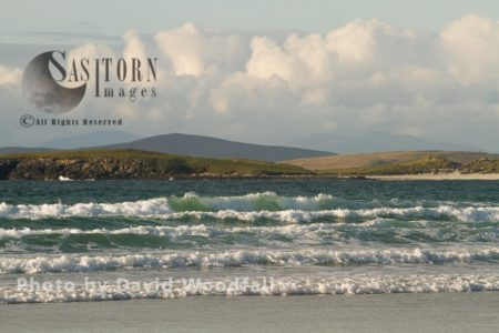 Breaking Waves, Solas Bay, North Uist, Berneray, North Uist, Outer Hebrides