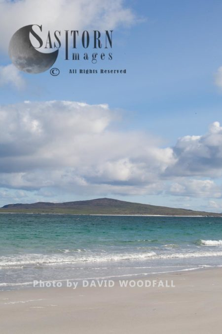 West Beach, White Beach At Low Tide, Atlantic Facing Beach, Berneray, North Uist, Outer Hebrides, Scotland