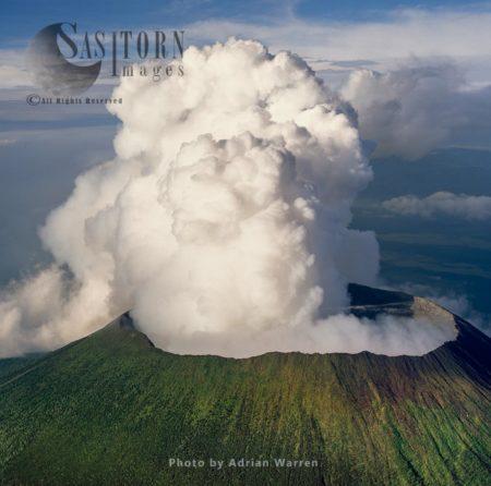 Mount Nyiragongo, An Active Volcano In The Virunga Mountains, Virunga National Park, The Democratic Republic Of The Congo (DRC)