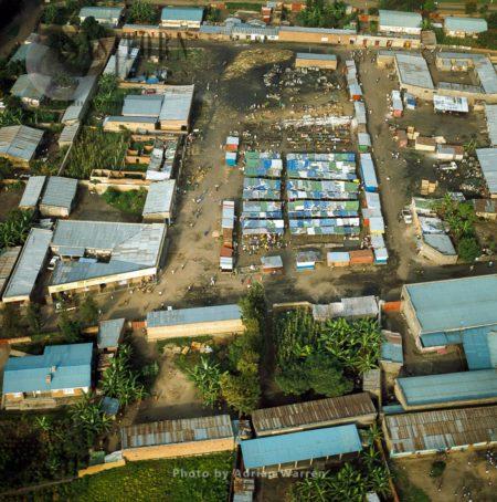 Settlement On Virunga Foothills, Rwanda