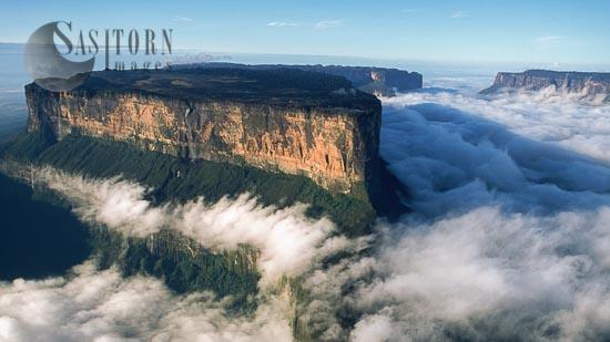 Aerial Images Of Tepuis Of Venezuela