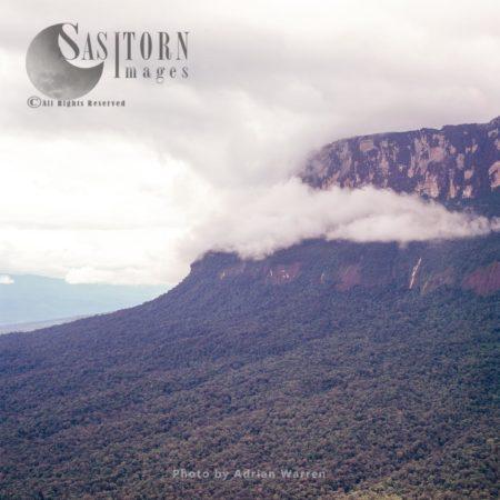 Chimanta Massif In Clouds, Canaima National Park, Venezuela