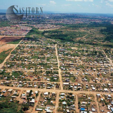 Aerial Image Of Suburbs Of Puerto Ordaz, Puerto Ordaz, Orinoco, Venezuela