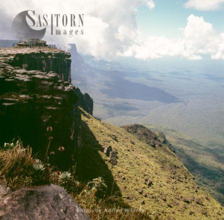 View Towards East Face Of Kukenan From Mount Roraima Summit, Tepuis, Canaima National Park, Estado Bolivar, Venezuela