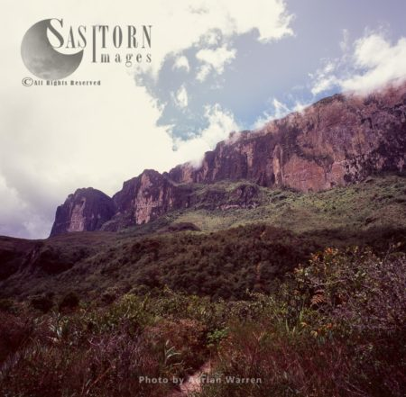 Mount Roraima, The Ramp From Base Camp, Canaima National Park, Venezuela
