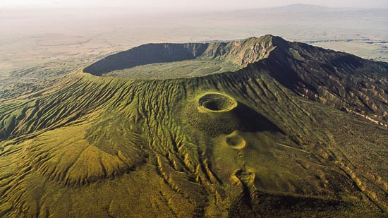 Aerial Images Of Tanzania And Kenya