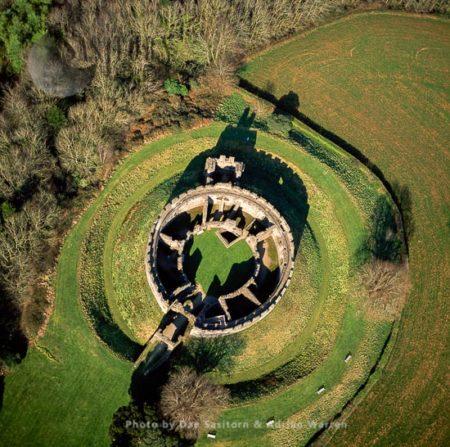 Restormel Castle, Near Lostwithiel, Cornwall