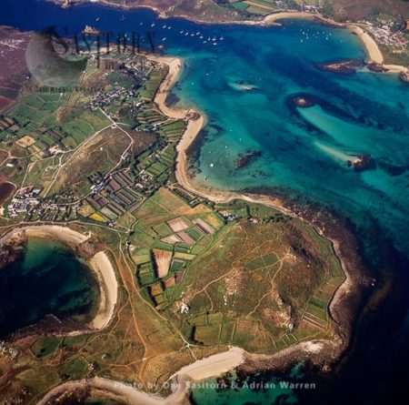 Bryher Southern End, Isles Of Scilly, An Archipelago Off The Cornish Coast, Southwest England