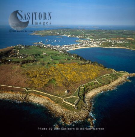 Garrison Walls At St Mary's, The Isles Of Scilly, Southwest England