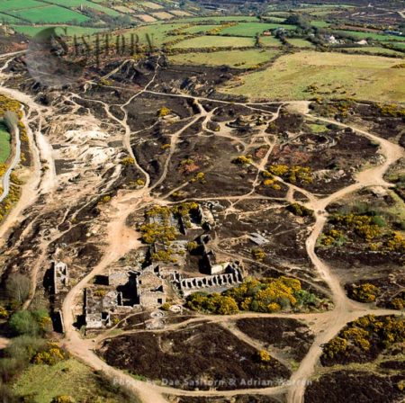 Poldice Mine, 17th Century Mine (close 1930), Extracting Copper, Arsenic And Tin, Near Redruth, Cornwall