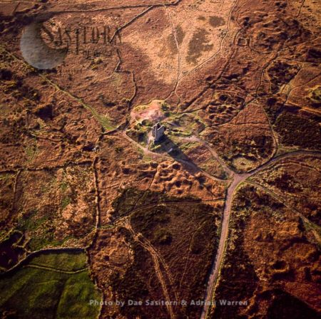 Cornish Tin Mine Engine House, Near Redruth, Cornwal