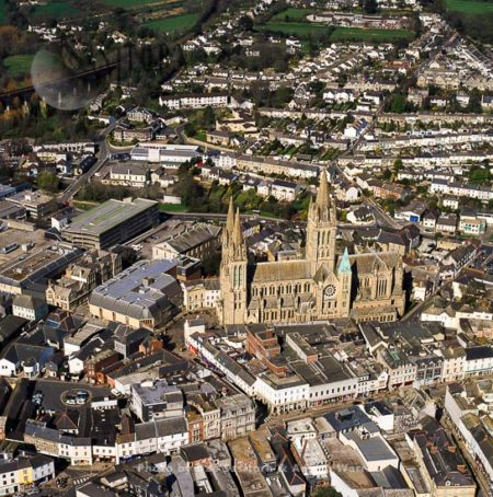 Truro Cathedral And Its City, Cornwall