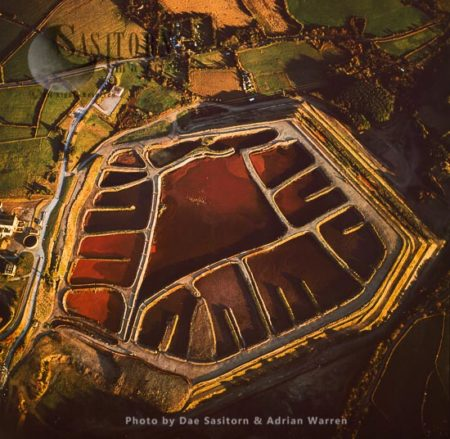 Water Pollution Waste From Disused Wheal Maid Mine, Cornwall