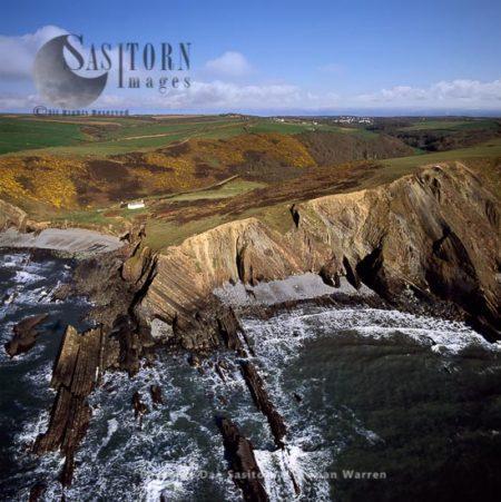 Dyer's Lookout, North Devon Coast, England