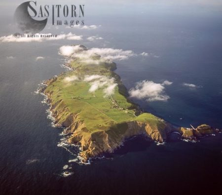 Lundy Island From South End, Devon, England