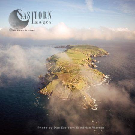 Lundy Island From North End, Devon, England