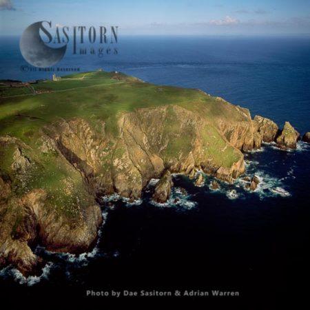 South End Of Lundy Island, Devon, England