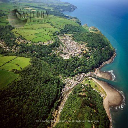 Lynton And Lynmouth, Devon, England
