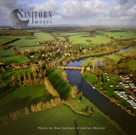 Clifton Hampden And The River Thames, Oxfordshire