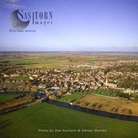 Lechlade And The River Thames, Cotswolds, Gloucestershire